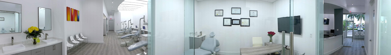 Panoramic photo of ART Orthodontics Office Dr Shiva Khatami Orthodontist