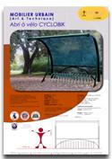 Abri à vélo CYCLOBIK Nouveauté ! Mobilier urbain