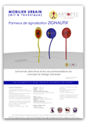 Panneaux de signalisation ZIGNALITIX - Mobilier urbain