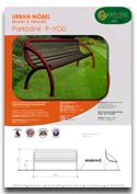 Bänk R-YOU ARTOTEC lekskulpturer och park/urbana möbler med KONST & TEKNIK