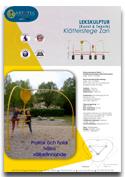 Klätterlek ZAN ARTOTEC lekskulpturer och park/urbana möbler med KONST & TEKNIK