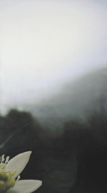 [Clin d'art #174] «Larangera». 2011. Guy Laramée. Huile sur toile. 137 x 76 cm 34 $ par mois pour un particulier (taxes incluses). © L'Artothèque. Tous droits réservés.