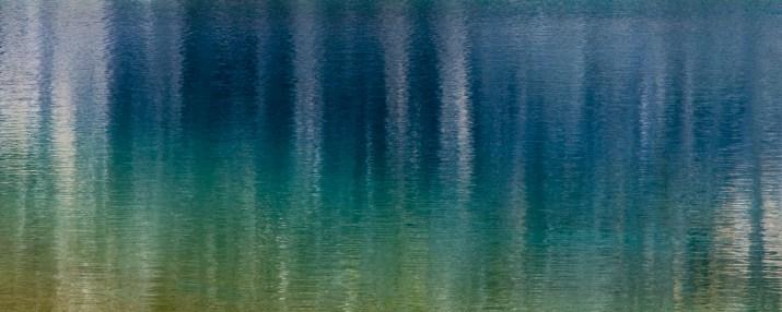 """[Clin d'art #178] """"Quoi de neuf?"""" «Blue 4». 2016. Robert Boire Photographie numérique, impression jet d'encre sur papier fibre de qualité archive. 23 x 53 cm 12 $ par mois pour un particulier (taxes incluses). © L'Artothèque. Tous droits réservés."""