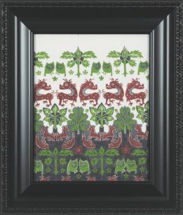[Clin d'art #162] «En drake och varelser fran Klingavalsan I». 2016. Marianne Pon-Layus. Encre et gouache sur papier vellum. 50 x 42 cm 15 $ par mois pour un particulier (taxes incluses). © L'Artothèque. Tous droits réservés.