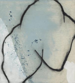 [Clin d'art #171] «Vénus bleue 1». 2015. France McNeil. Acrylique sur toile. 61 x 56 cm 12 $ par mois pour un particulier (taxes incluses). © L'Artothèque. Tous droits réservés.