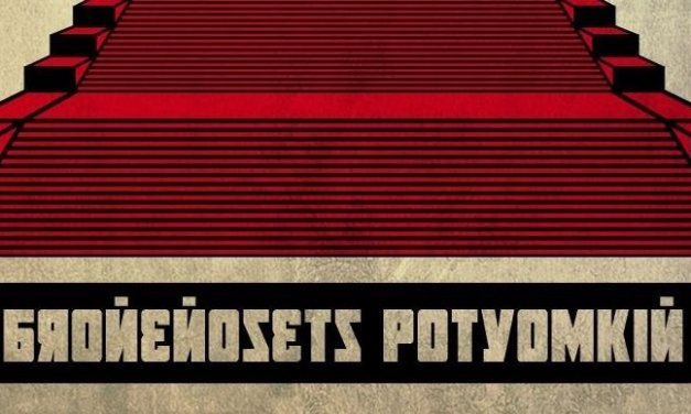 """Il costruttivismo nella locandina de """"La Corazzata Potemkin"""""""