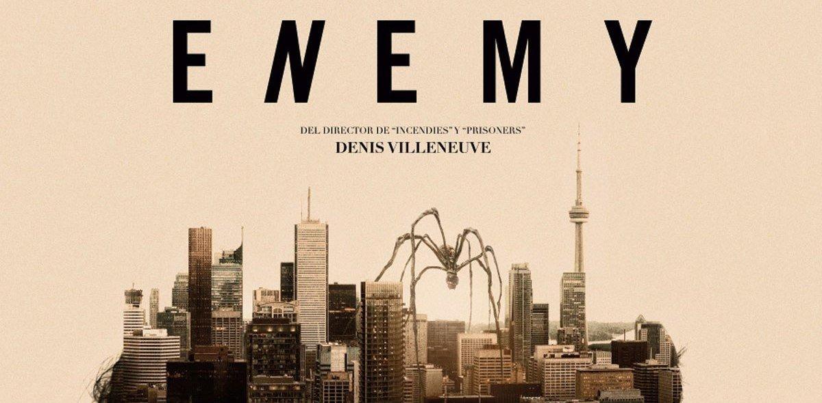 Il ragno che cammina sul Canada scolpito nella mente di Enemy