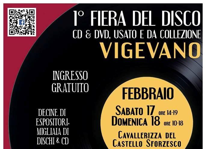 Fiera del disco a Vigevano