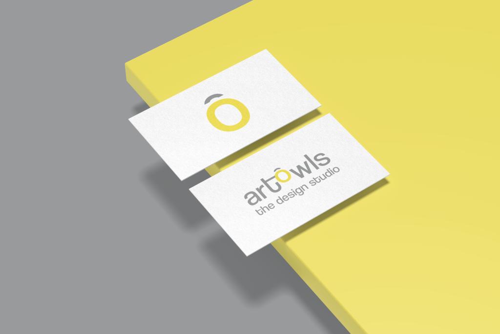 ArtOwls Logo Mockup