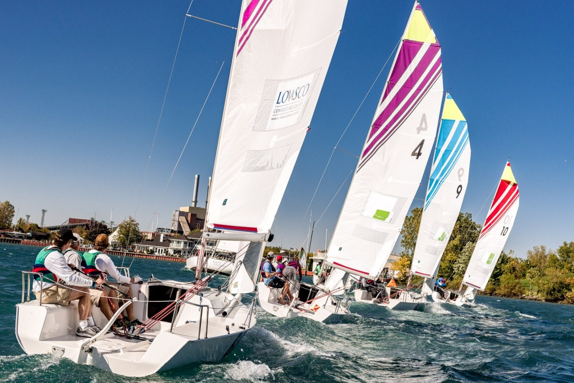 Bayview Yacht Club Great Lakes Team Race, 2015