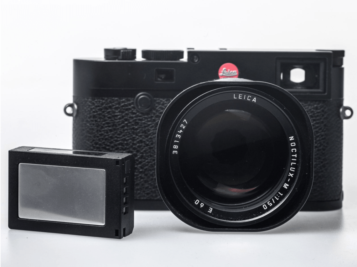 Leica M10 Front + Battery