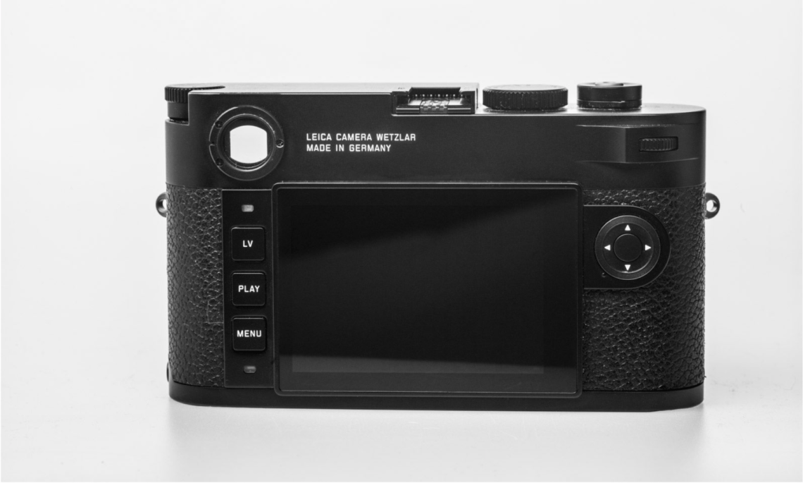 Leica M10 Rear View