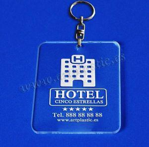 llaveros hoteles