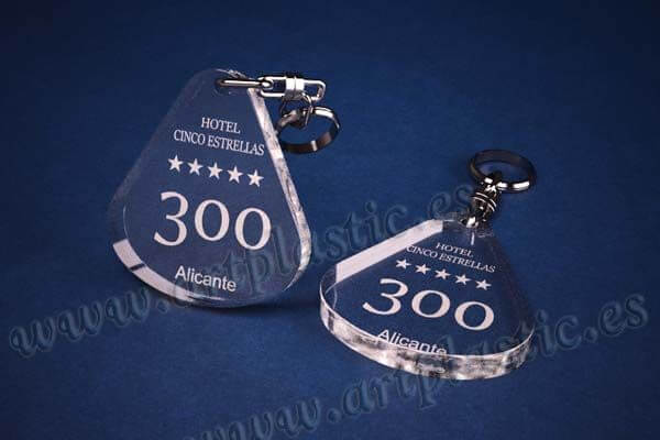 llaveros personalizados gota agua grande 8mm