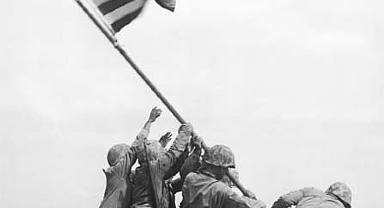 IWO JIMA WWII Photograph Gifted to the National World War II Museum
