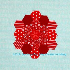 Finished Hexagon Block