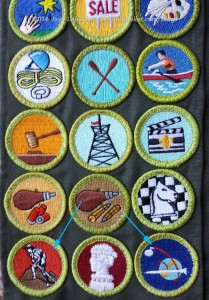 Non-Eagle required badges