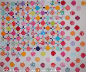 Octagon Nine Patch detail- April 2015