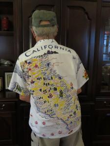 California Shirt  (back)