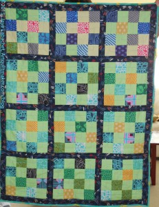 16 Patch Baby Throw