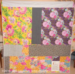 Fabric of the Year 2015 Back: Finished!