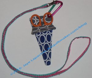 Chatelaine Scissors with Sheath from Rhonda