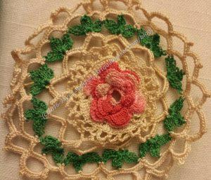 Nanny's Crochet Rose