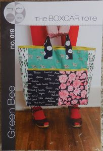 Boxcar Tote by Green Bee