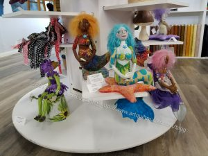 Bay Quilts - art dolls