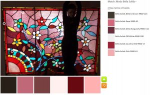 Leaded Glass- default palette
