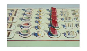 Wayne Thiebaud Lunch Table, 1964
