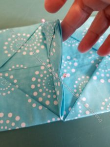 Pin triangles together