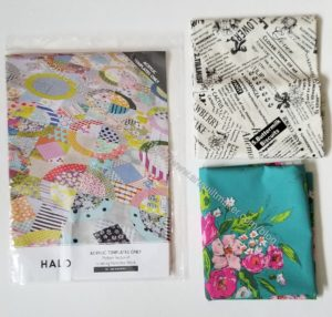 Sewing Party purchases