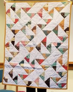 Peggy's HST donation quilt