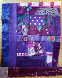 Purple improv shard n.3