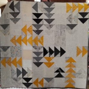 Marty's Flying Geese quilt