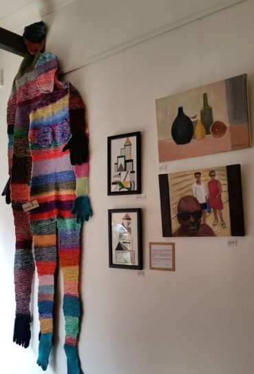 Jean Stanford presents Art Among Friends at Cafe Deli Felice at Albion