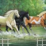 Beautiful Horse Paintings