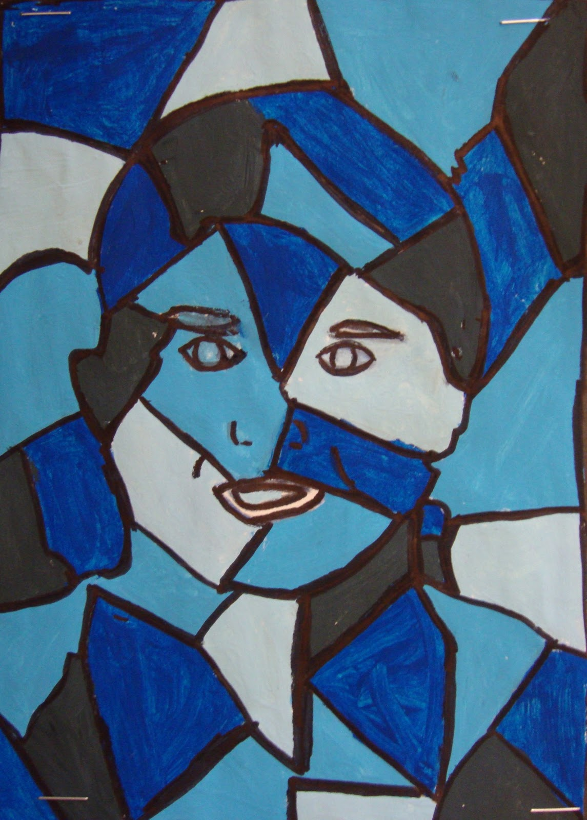 Simple Cubist Paintings