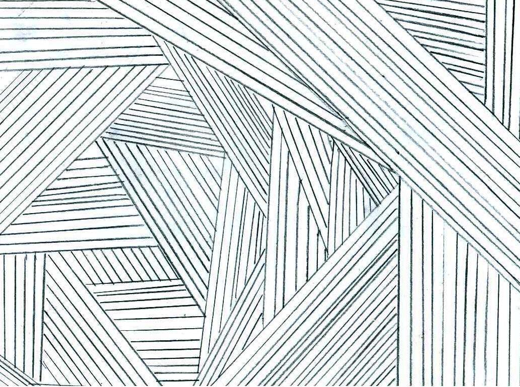 Lines In Paintings