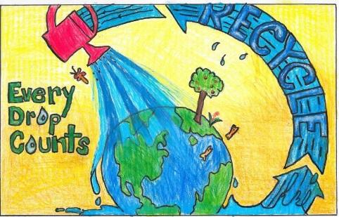Save Water Paintings