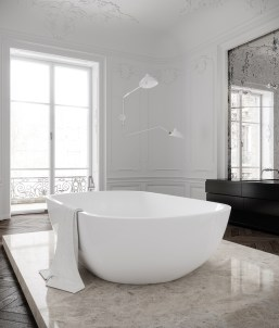 Appartement Paris - Salle de bain © Talcik Demovicova