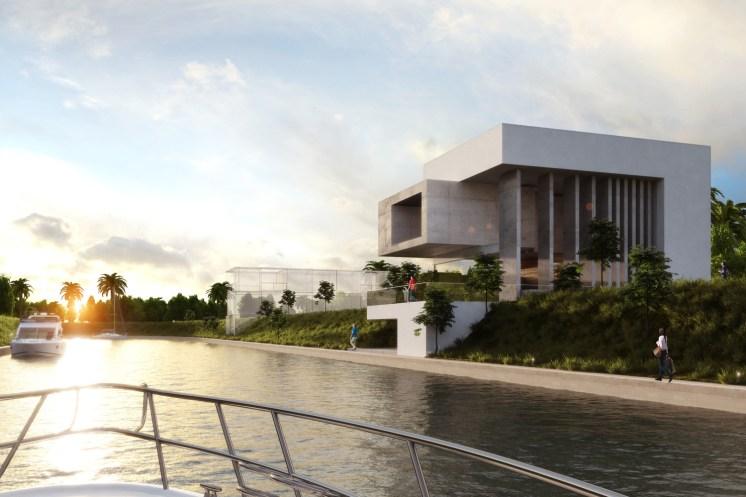 Projet El Dorado, à Veracruz au Mexique, en construction.