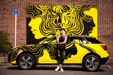 GINA KIEL et Audi Q2
