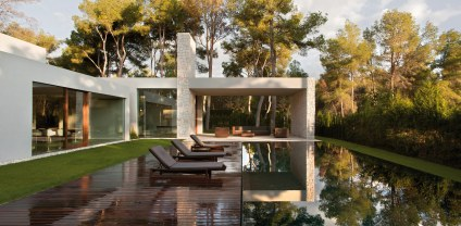 Forest House - piscine
