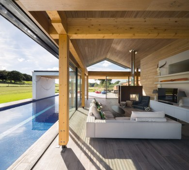 woodfarm - salon extérieur