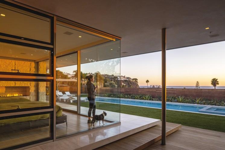 La résidence McElroy, Laguna Beach, CA.© Nico Marques
