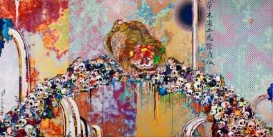 Takashi-Murakami-Under-the-Radiation-Falls-Art-Exhibition-arts-and-crafs-I-Lobo-you
