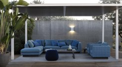 Ensemble de la collection BAY Design : Antonio Citterio pour B&B ITAlIA www.bebitalia.com