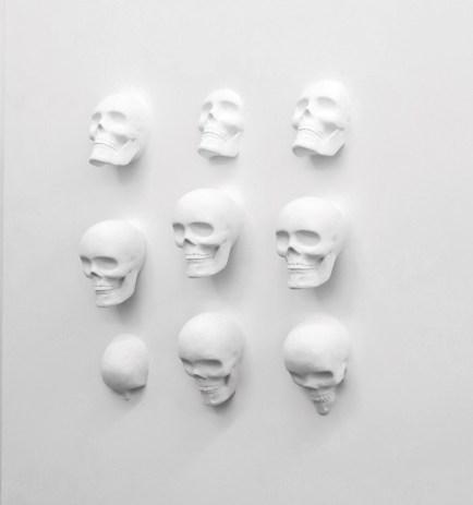 Installation Pure Jack'pot Paul Sibuet Technique mixte, 120 x 120 x 20 cm, 2015.